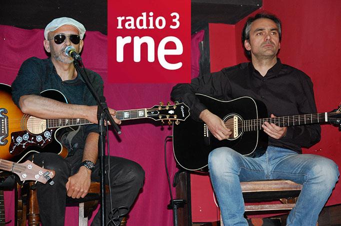 Jimmy y Dani en directo Radio 3