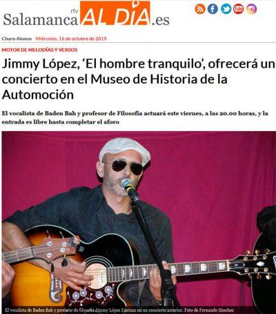 entrevista jimmy hombre tranquilo museo comercio salamancartvaldia