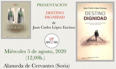 presentación Dstino Dignidad en la Feria del Libro (Soria)